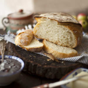 No-knead bread / Paine neframantata