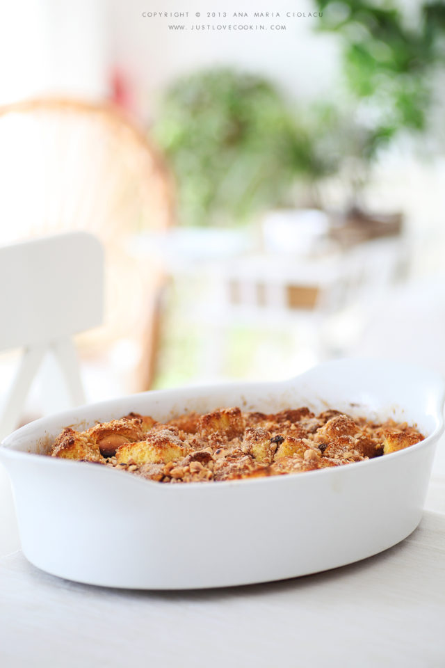 Bourbon caramel bread pudding 2