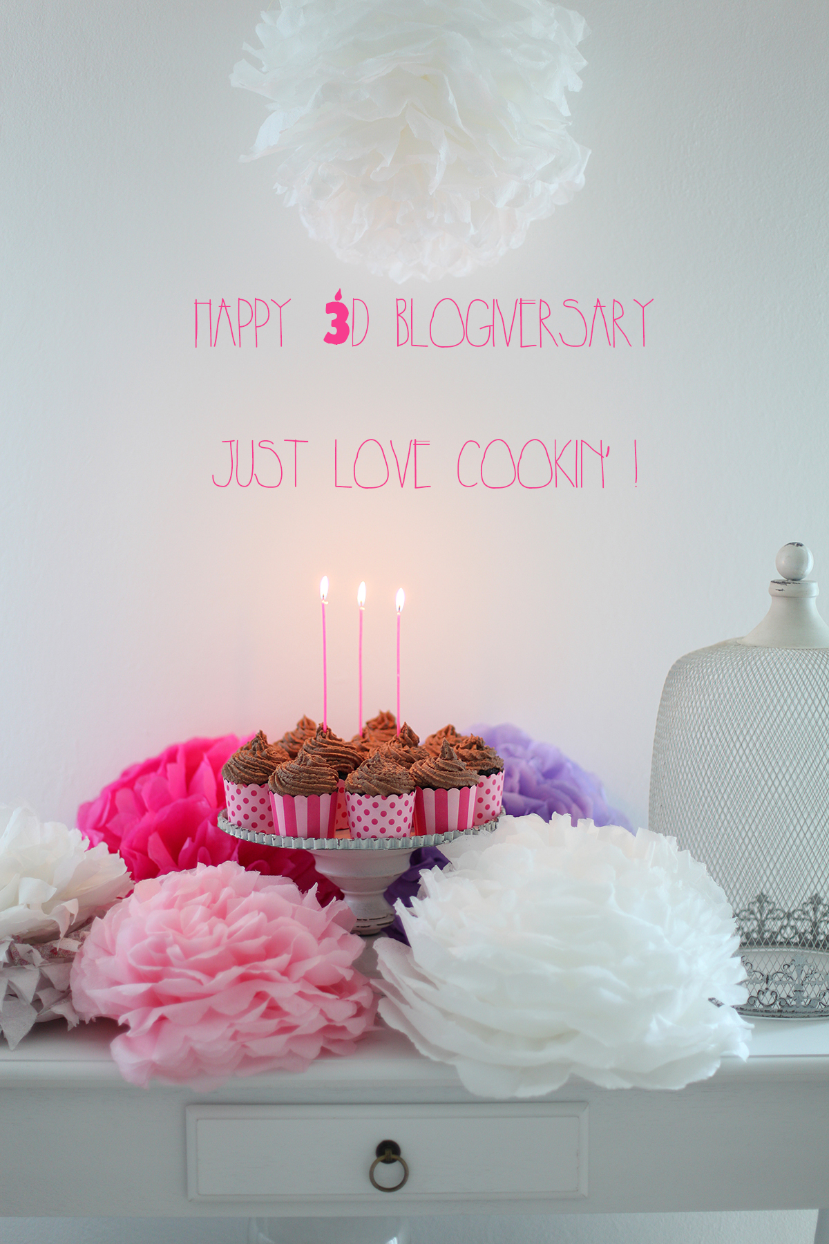 Happy 3d blogiversary and happy b-day to me too!
