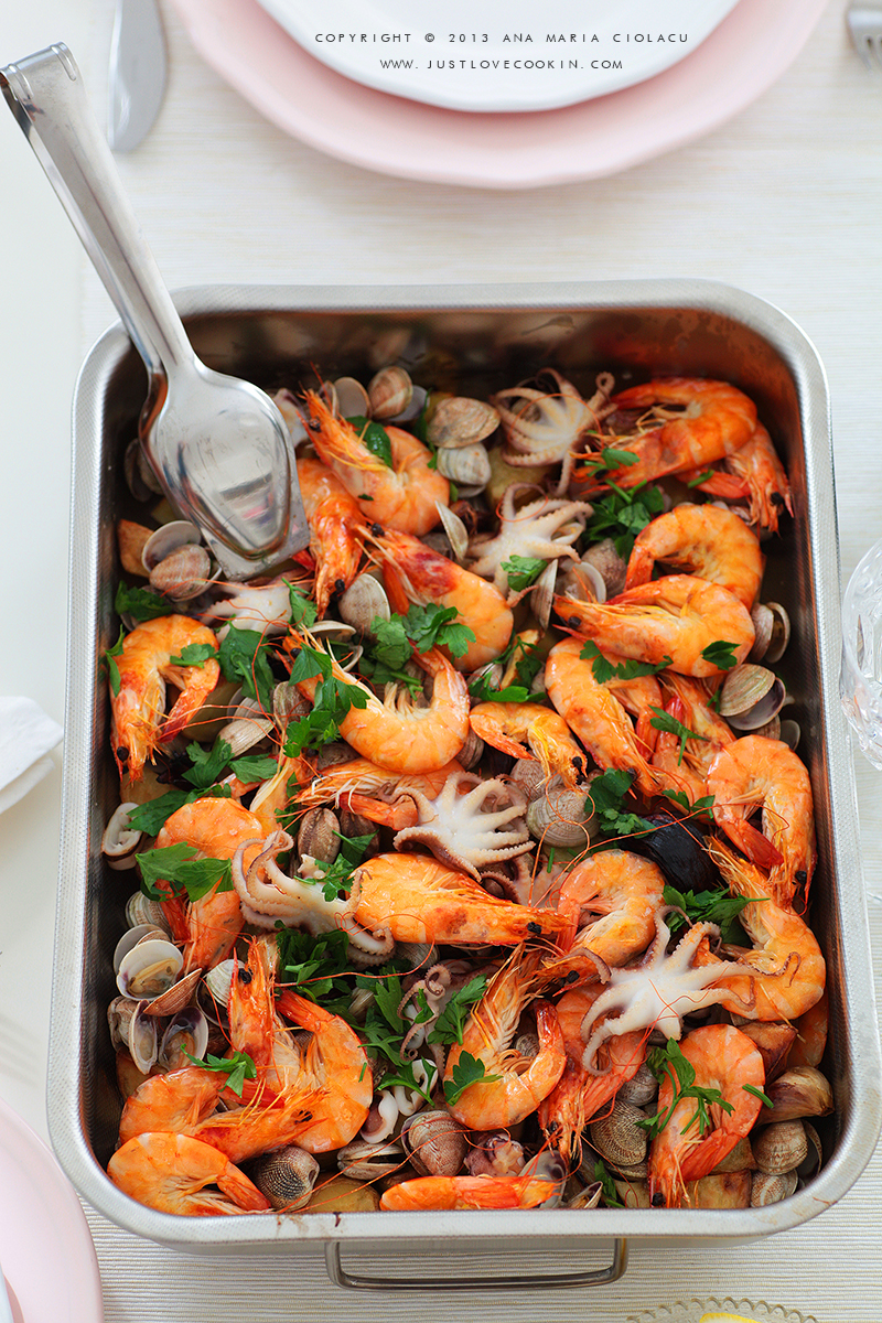 Roasted Seafood 6w